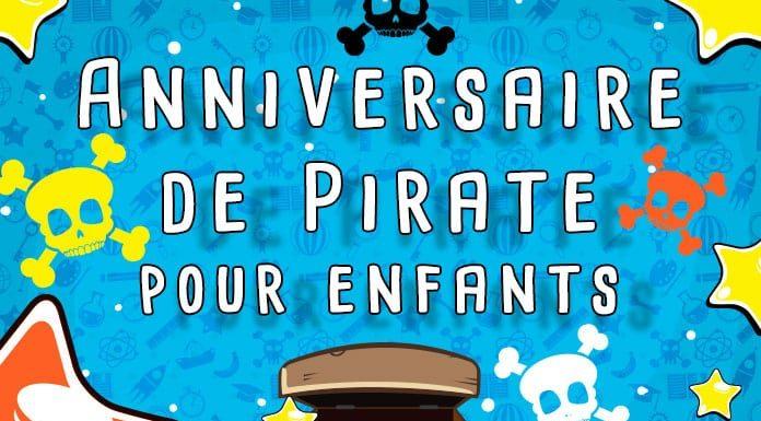 Anniversaire de pirate pour enfant