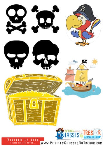 Decoration Anniversaire Pirate A Imprimer
