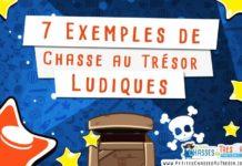 7 exemples de chasses au trésor ludiques pour enfants