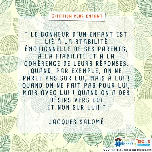 Citation sur le bonheur des enfants
