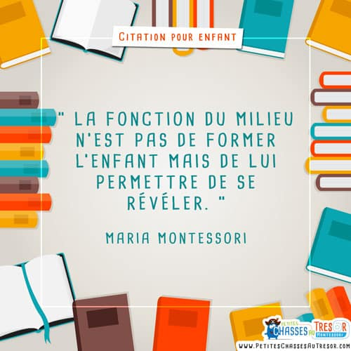 Citation montoir pour enfant