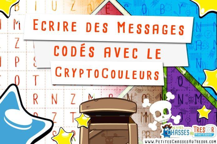 ecrire des messages cod s avec le cryptocouleurs. Black Bedroom Furniture Sets. Home Design Ideas