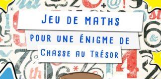 Jeu mathématique pour enfant à imprimer