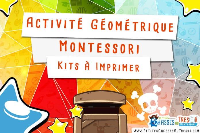 Activités Formes Géométriques Maternelle Kits à Imprimer