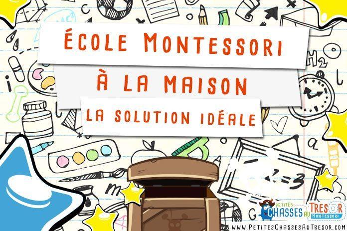 Faire une école Montessori à la maison à l'aide d'activités éducatives