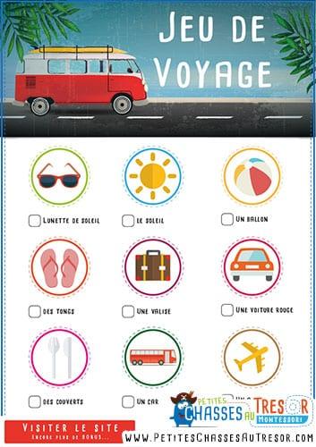 jeu de voyage en voiture pour occuper les enfants kit gratuit. Black Bedroom Furniture Sets. Home Design Ideas