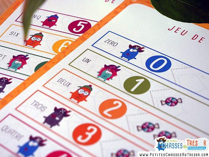 jeu éducatif sur les nombre pour les maternelle