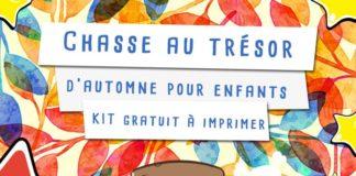 Chasse au trésor sur l'automne pour les enfants à imprimer