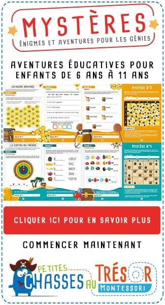 les défis des petits génies Rémy et Coline petiteschassesautresor.com