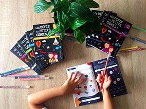 Photos des livres les défis des petits génies