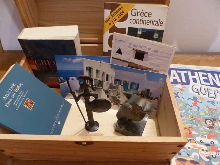 Boite mystère pour enfant sur la Grèce