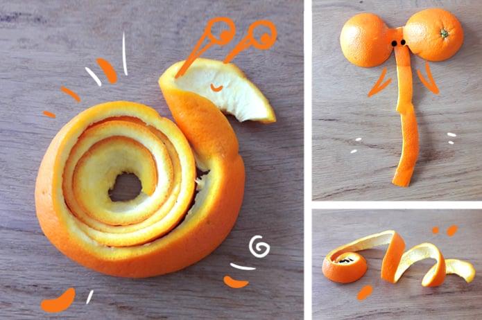 Faire découvrir les fruit aux enfants en s'amusant