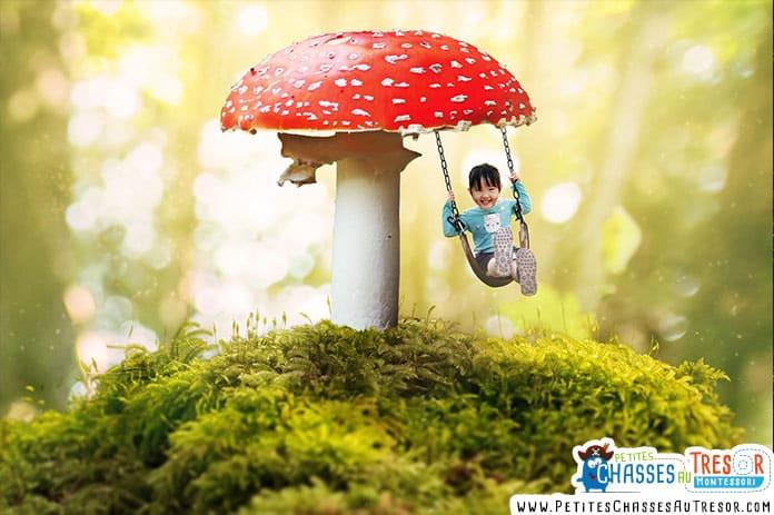 idée de jeu dans la nature pour enfant