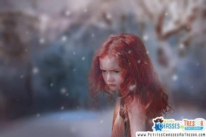 vivre une aventure en extérieur avec les enfants en hiver