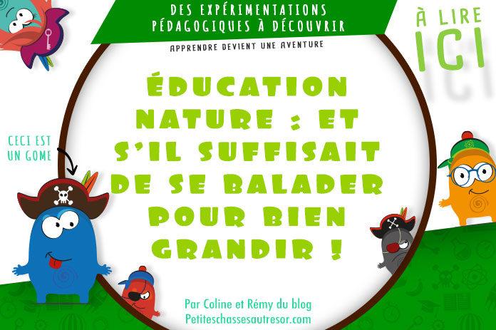 Donner une éducation nature à ses enfants