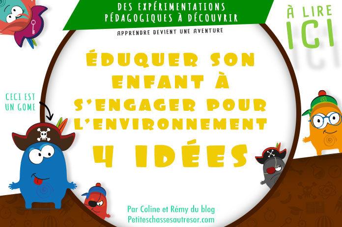 Idées pour apprendre le respect de l'environnement aux enfants