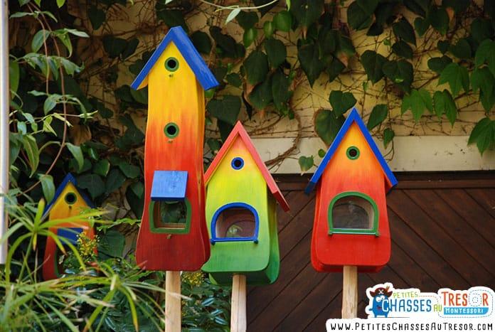 Fabriquer et peindre une cabane à oiseaux