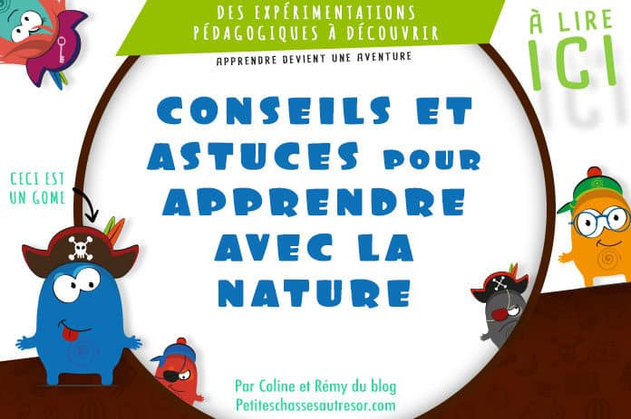 Conseils et astuces pour apprendre au enfants avec la nature
