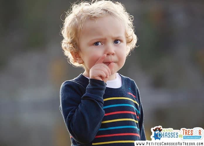 Un enfant précoce se pose beaucoup de questions