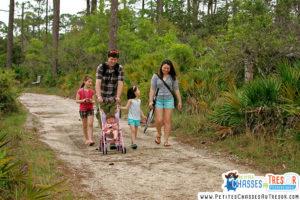 La sortie dans la nature crée un bon lien et une ambiance familiale