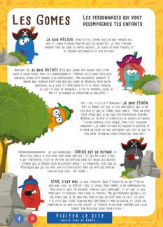 Histoire des Gomes les héros de l'aventure