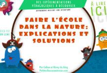 Comment faire l'école dans la nature avec des enfants