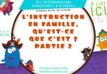 Qu'est-ce que l'instruction en famille ?