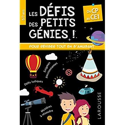 Livre les petits génies CP 6 ans