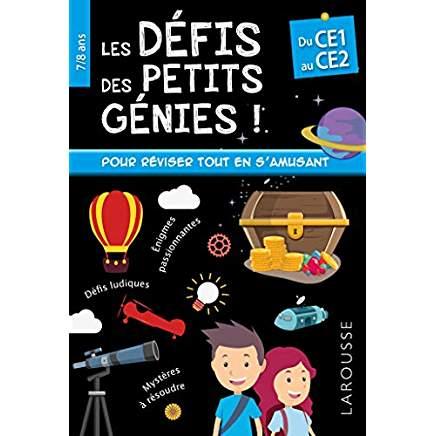 Livre les petits génies CE1 7 ans