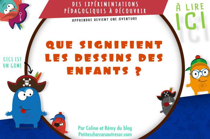 Quelle est la signification des dessins des enfants ?