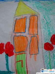 Que signifie la maison représentée dans un dessin d'enfants ?
