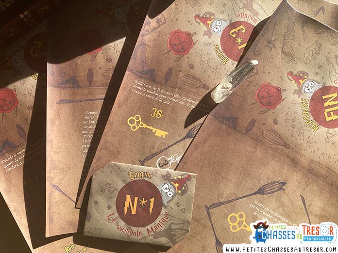 Préparation de l'Escape Game d'Harry Potter