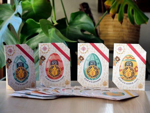Chasse au trésor de Pâques à imprimer