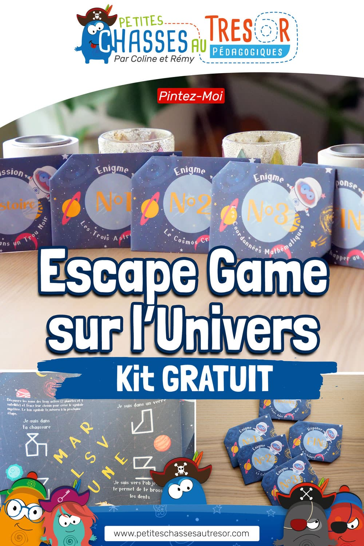 escape game univers pour enfants