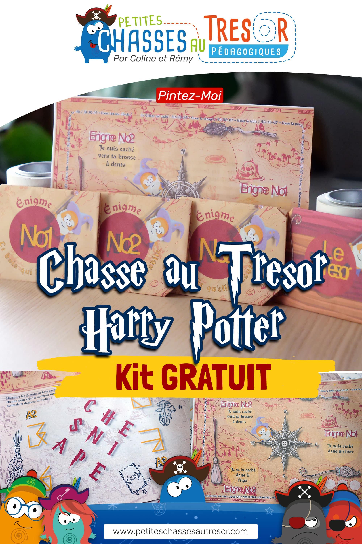 Pinterest Chasse au Trésor Harry Potter